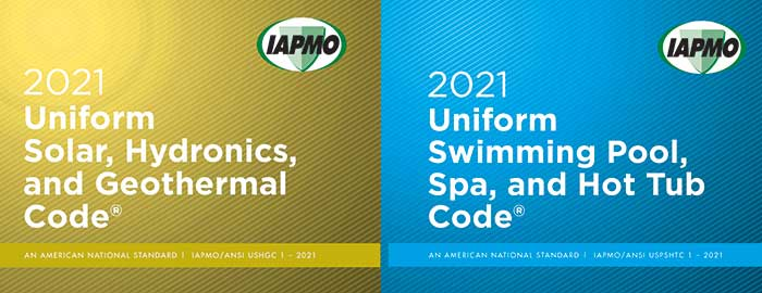 IAPMO Solicits Public Comments for 2021 Uniform Solar, Hydronics and Geothermal, Swimming Pool, Spa and Hot Tub Codes