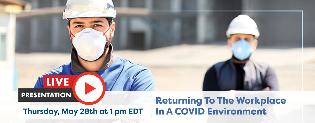 IAPMO, PHCC, PMI to Present Webinar Thursday Looking at 'Returning to the Workplace in a COVID Environment'
